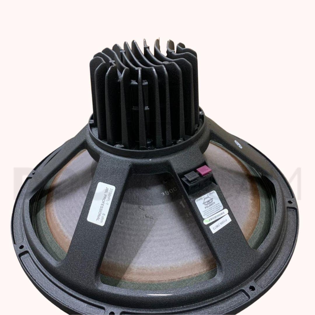 Alto-falante subwoofer neodímio JBL 2258HPL 800W RMS com 6KG