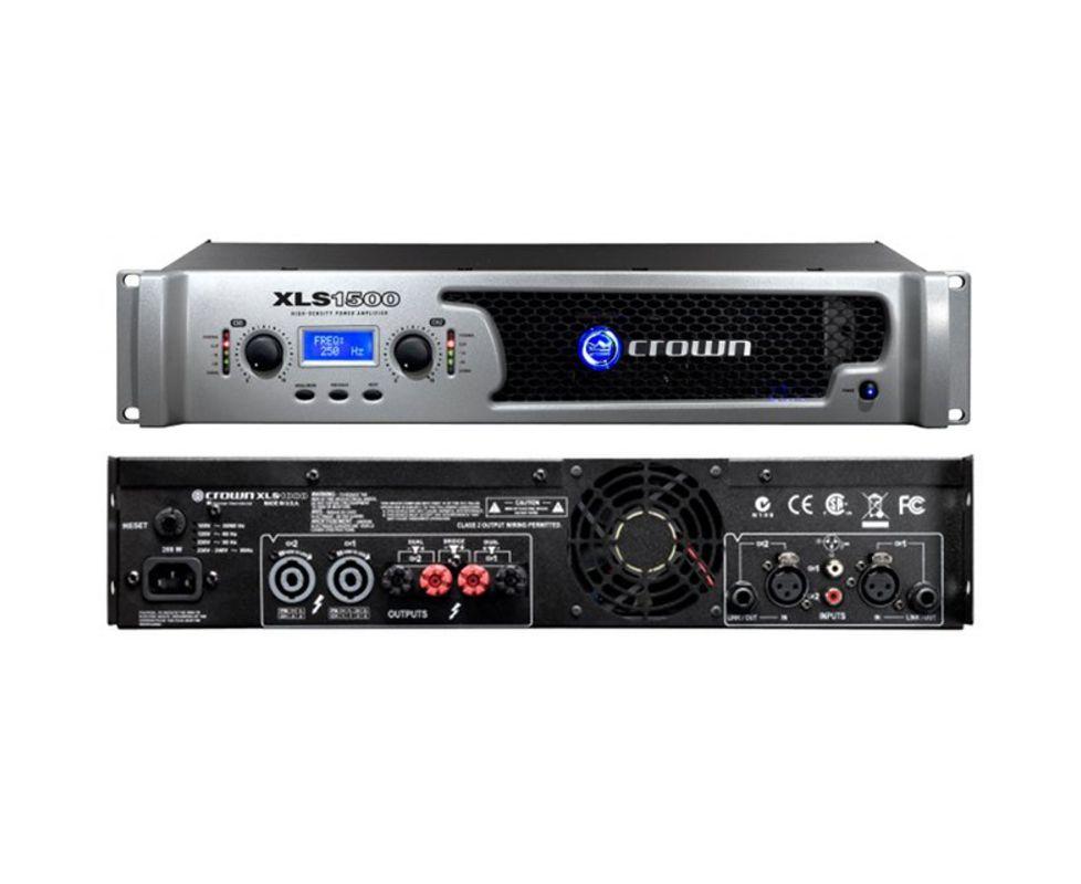 Amplificador de Potência 127V XLS-1500 - Crown