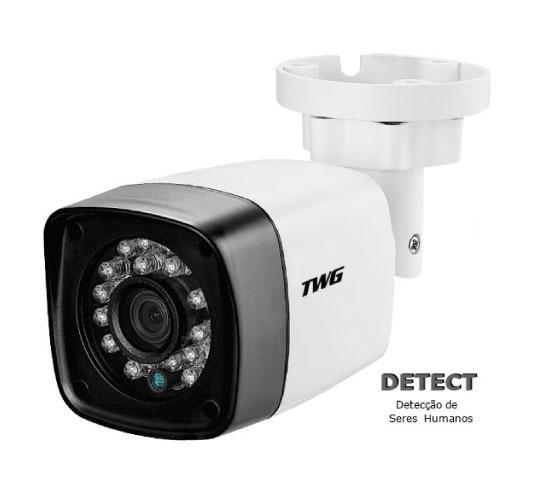 Câmera Bullet Detect 3x1 1MP 2.8mm
