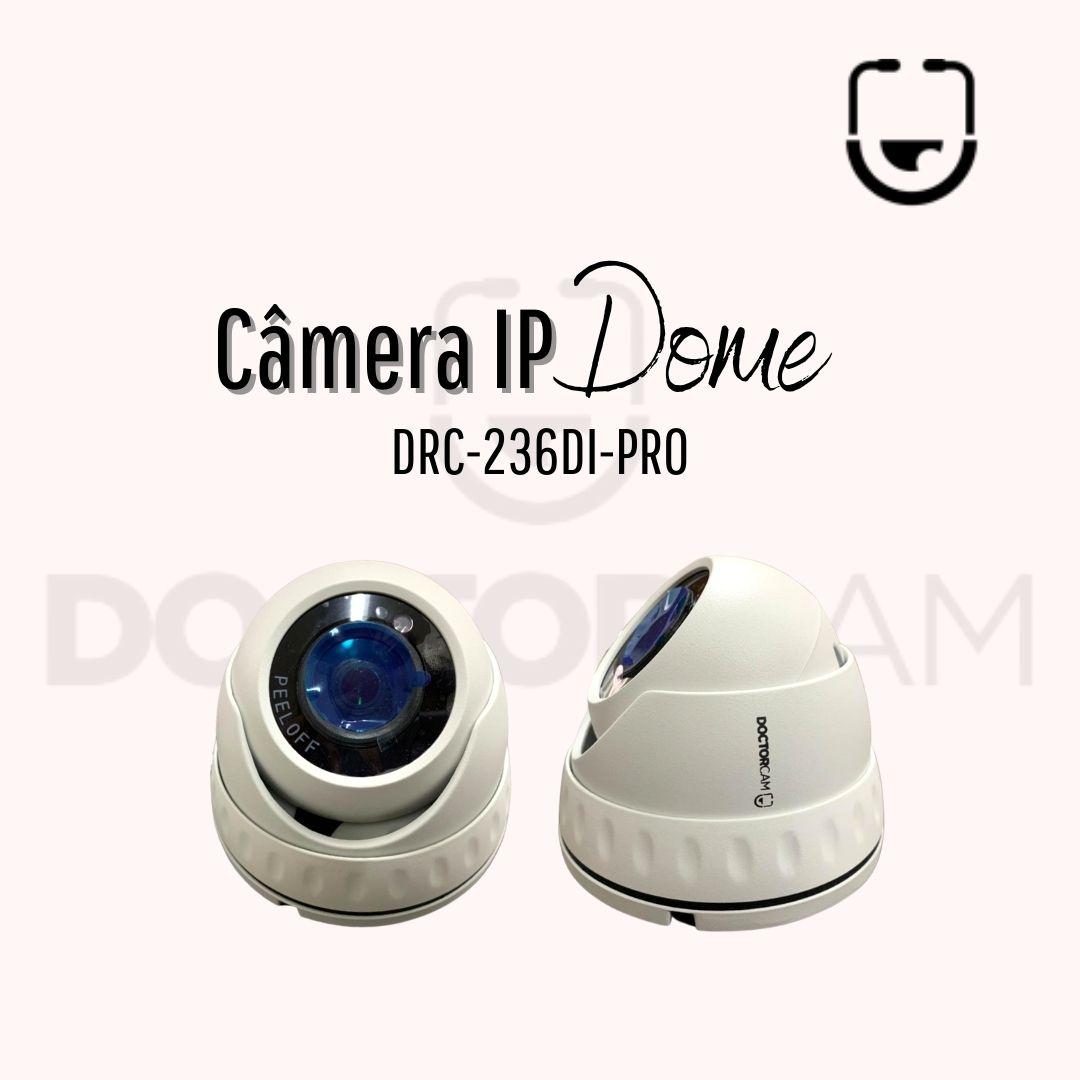 Câmera IP Dome DRC-236DI-PRO Full HD