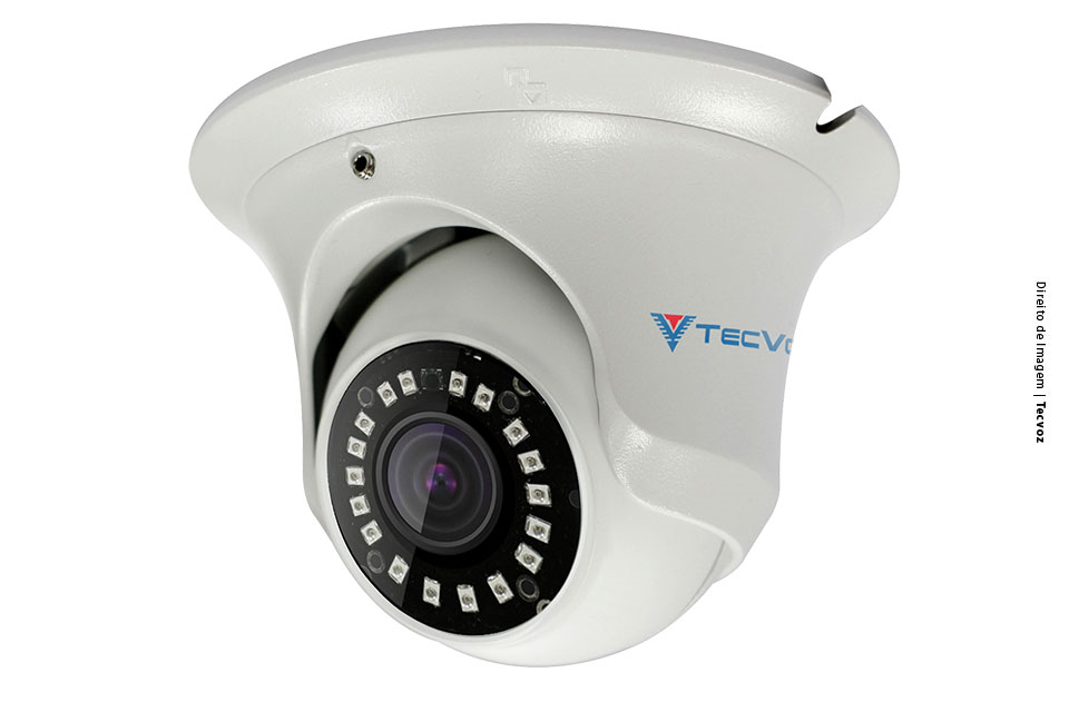 Câmera TECVOZ TV-IDM102 HD IR 25m 8GB P2P NUVEM