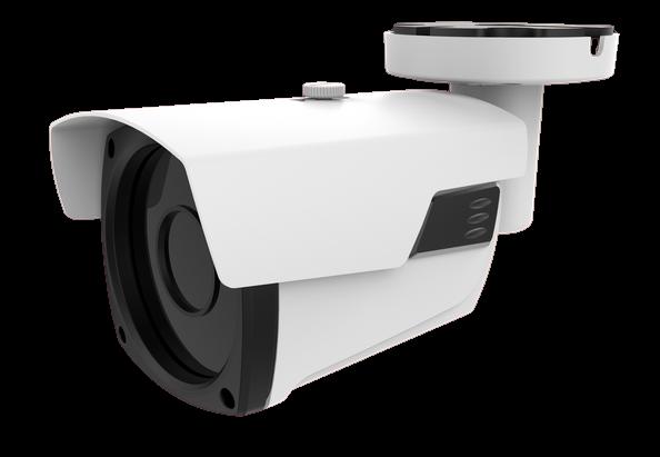 Câmera IP FullHD Metalico IP66 IR40  VF 2.8~12mm