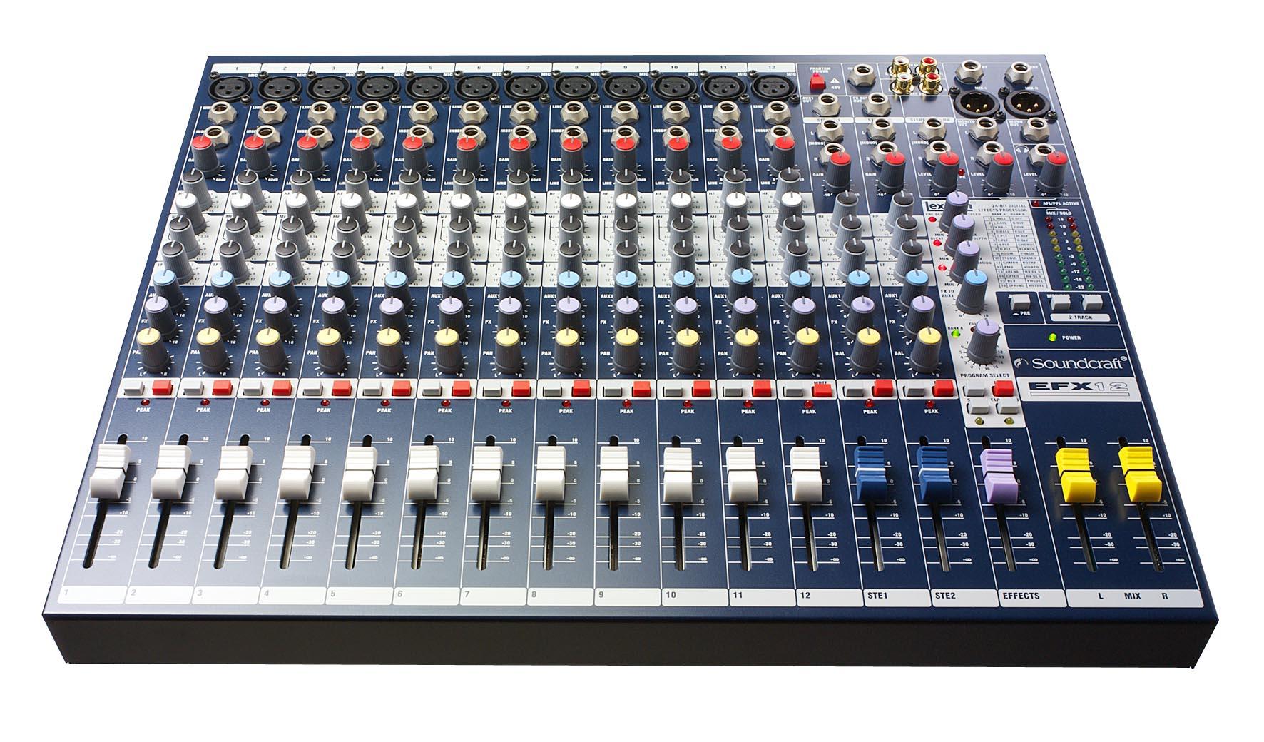 Componente da Mesa de Som EFX12 Soundcraft by HARMAN