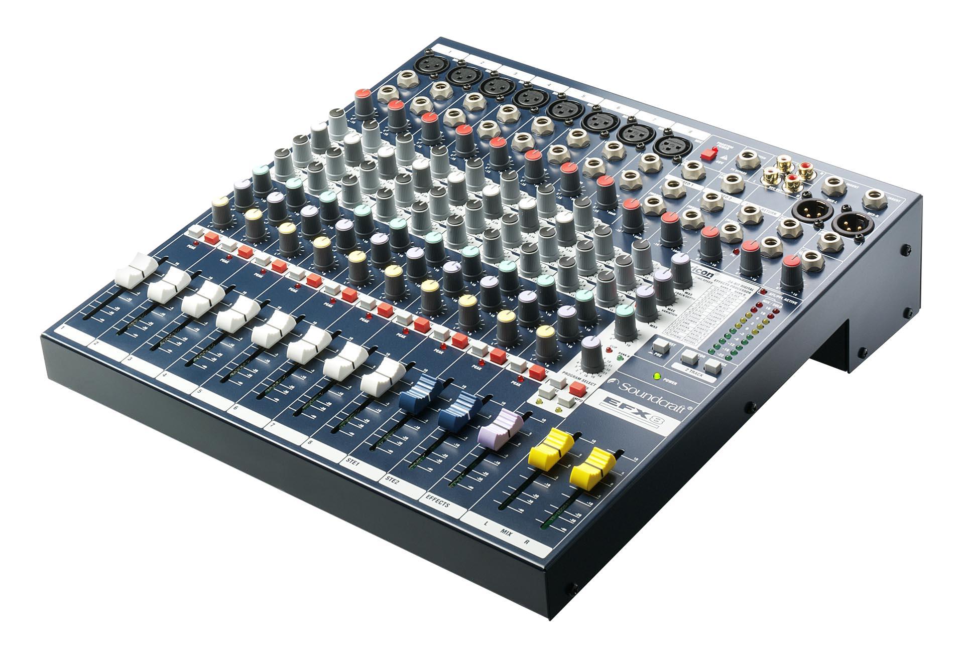 Componente da Mesa de Som EFX8 Soundcraft by HARMAN