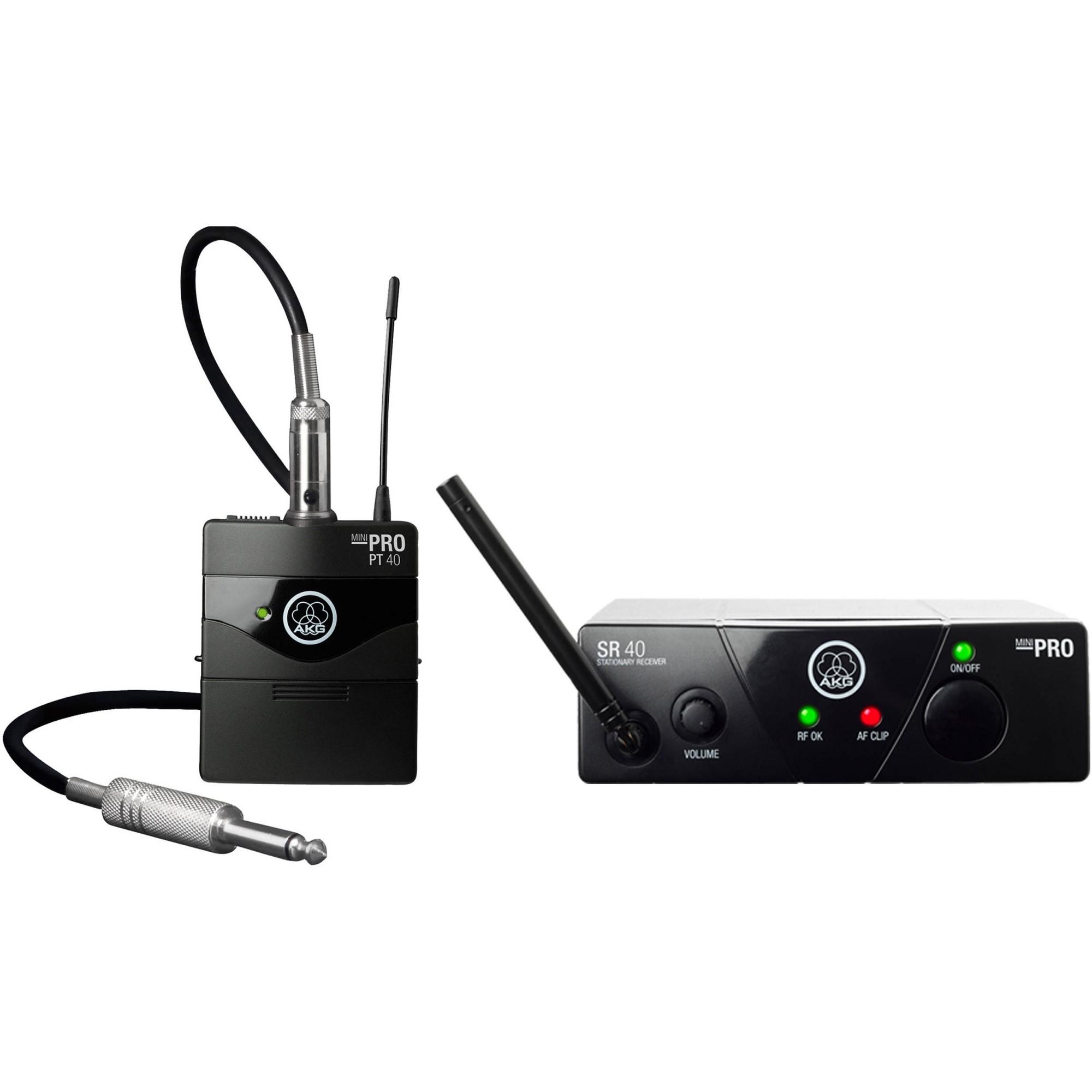 Kit com 2 Sets WMS40PRO MINI UHF SETUS45B + Brinde