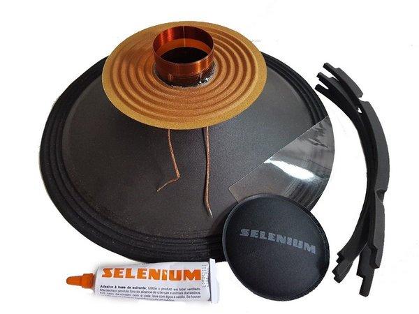 Kit Reparo JBL Selenium 15SW1P  800w Rms 8 Ohms