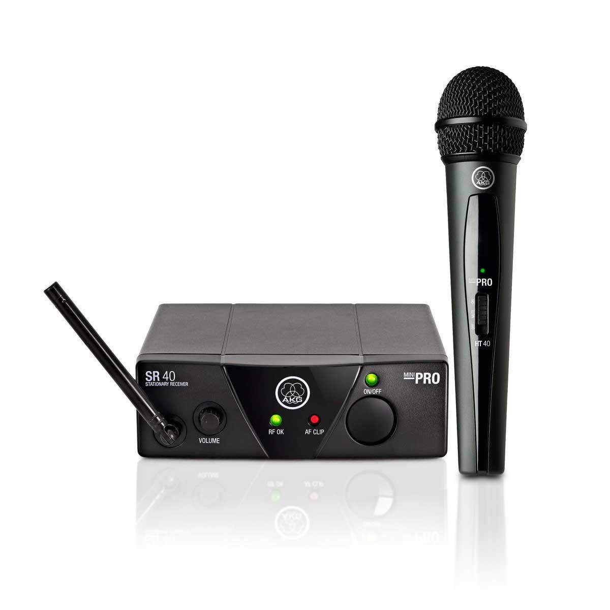 Microfone AKG WMS40 Mini Single Vocal Set US25C