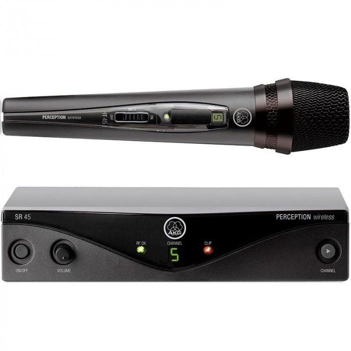 Microfone sem fio AKG PW45 PRO Vocal UHF Mostruário