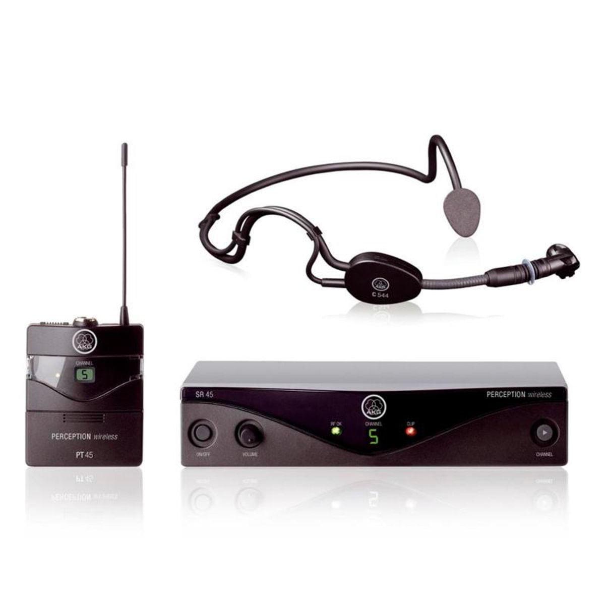 Microfone HeadSet Perception Wireless 45 Sports Set Band-A