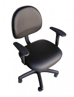 Cadeira de Escritório Executiva com Braço - Giratória