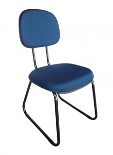 Cadeira de Escritório Secretária - Pés Ski