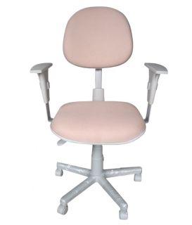 Cadeira Ergonômica Executiva Back-System Perfil Cinza- Com Braço - NR17