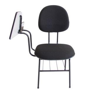 Cadeira Executiva de Escola Com Braço Grande e Retrátil