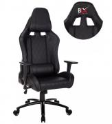 Cadeira Gamer Relinável 180° - Costurada Preta