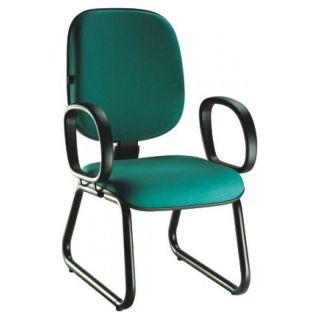 Cadeira Recepção Diretor Tradicional - Pés Ski