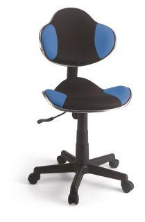 Cadeira Secretária em tela Azul