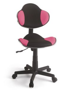Cadeira Secretária em tela Rosa