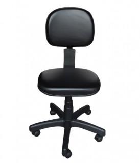 Cadeira Secretária Reclinável Sem Braço