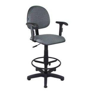 Cadeira Caixa Tradicional Executiva Com Braço Regulável