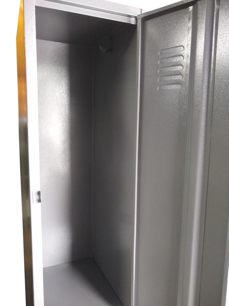 Armário Roupeiro de Aço - 2 Portas Grandes  - Tinay Móveis Ltda