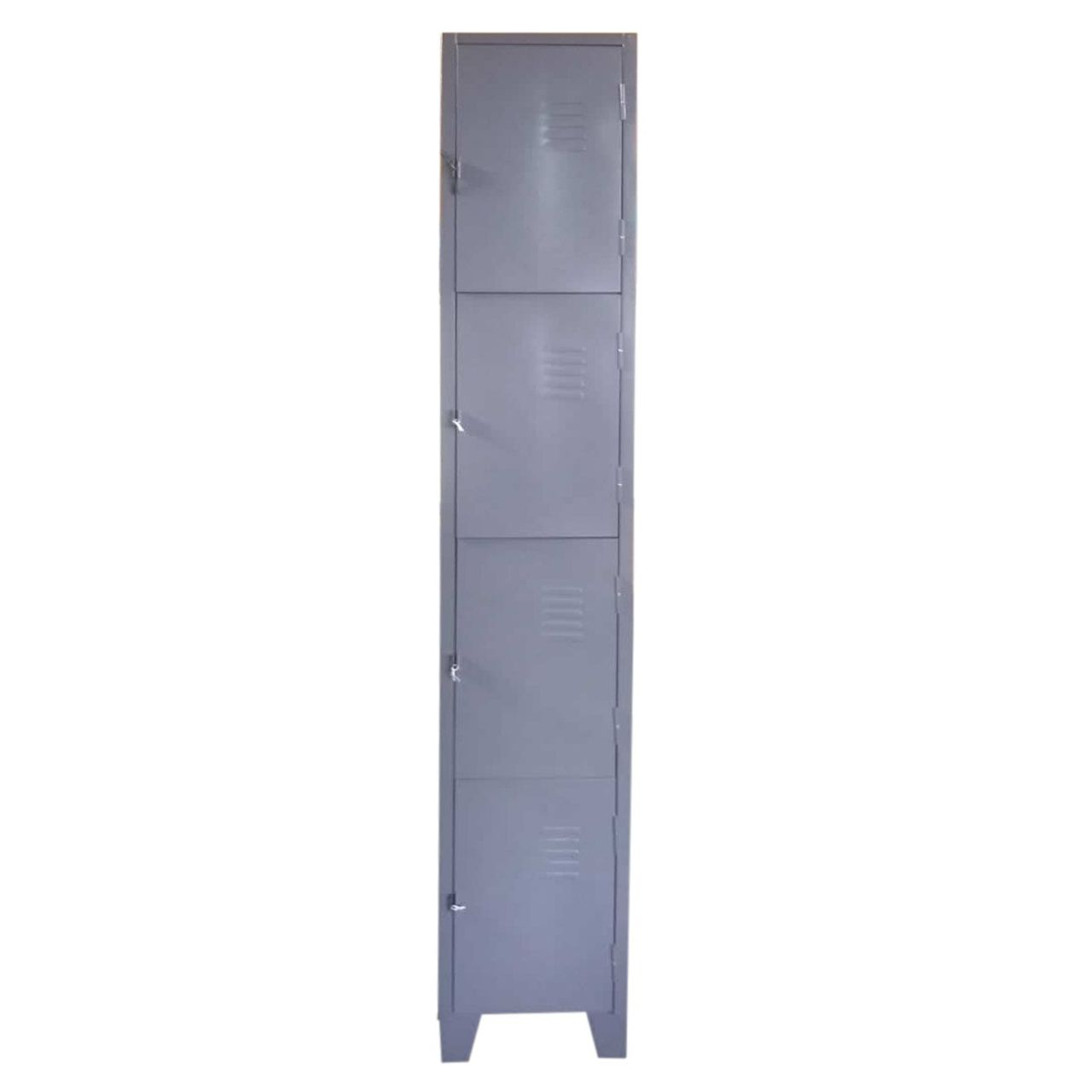 Armário Roupeiro de Aço - 4 Portas Pequenas  - Tinay Móveis Ltda