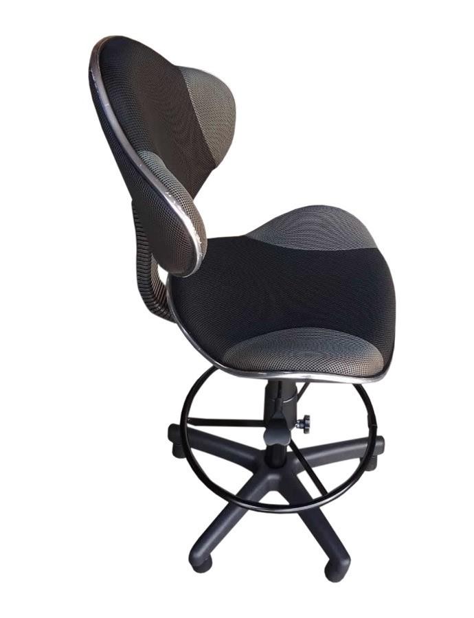Cadeira Caixa Alta para Balcão de Tela  - Tinay Móveis Ltda