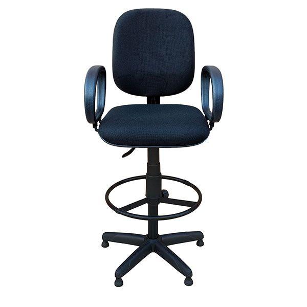 Cadeira Caixa Diretor com Braço  - Tinay Móveis Ltda