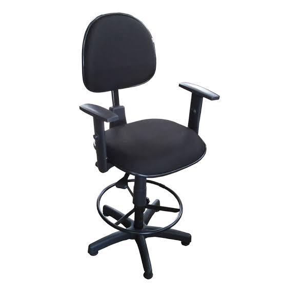 Cadeira Caixa Ergonômica Executiva com Braço - NR-17  - Tinay Móveis Ltda