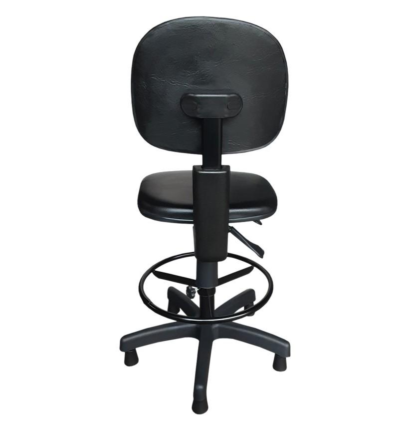 Cadeira Caixa Ergonômica Secretária Sem Braço - NR-17