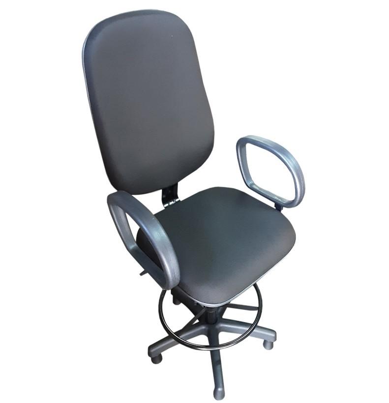 Cadeira Caixa Presidente com Braço