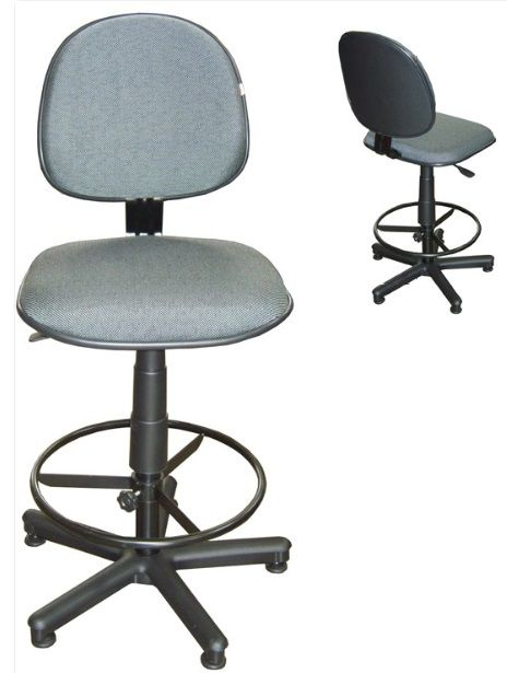 Cadeira Caixa Tradicional Executiva - Com Reforço  - Tinay Móveis Ltda