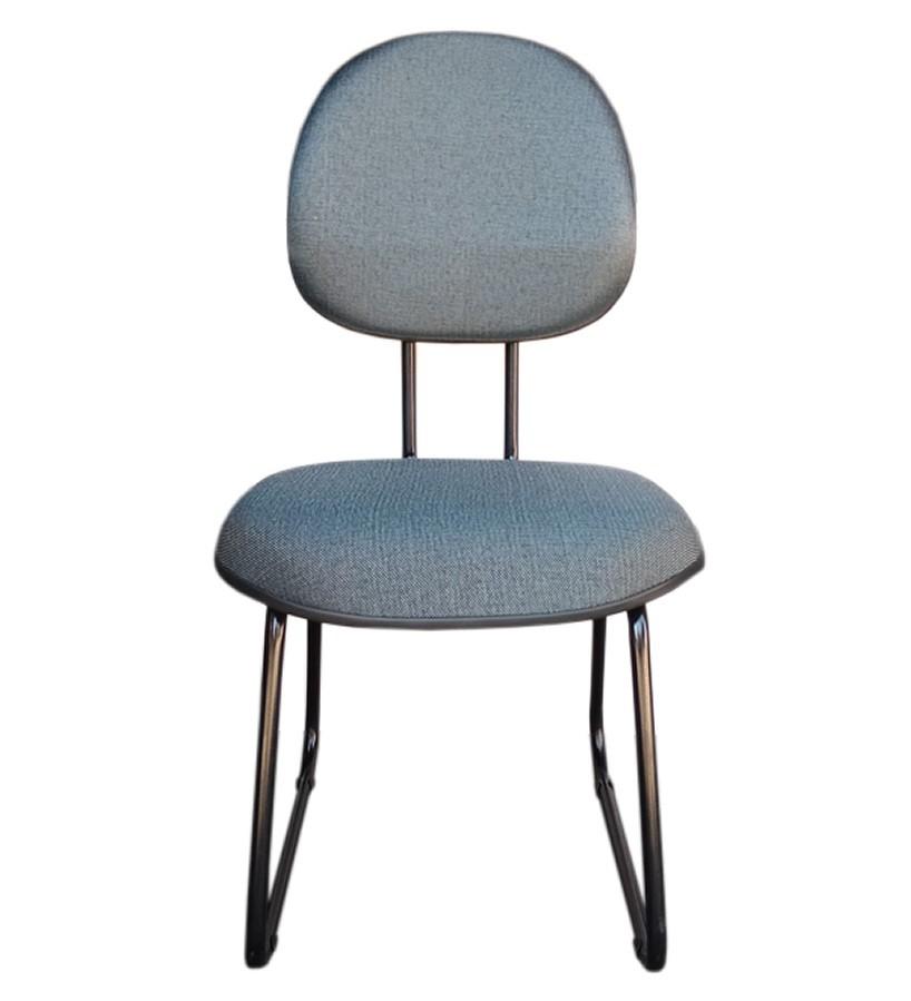 Cadeira de Escritório Executiva - Pés Ski  - Tinay Móveis Ltda