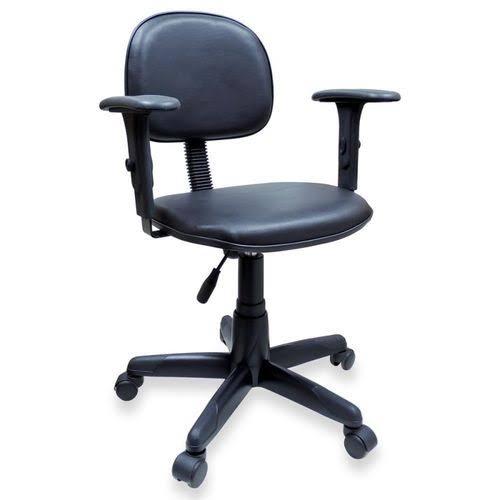 Cadeira de Escritório Secretária com Braço - Giratória  - Tinay Móveis Ltda