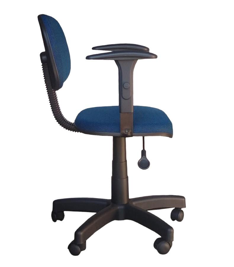 Cadeira de Escritório Secretária com Braço - Giratória