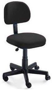 Cadeira de Escritório Secretária sem Braço - Giratória  - Tinay Móveis Ltda
