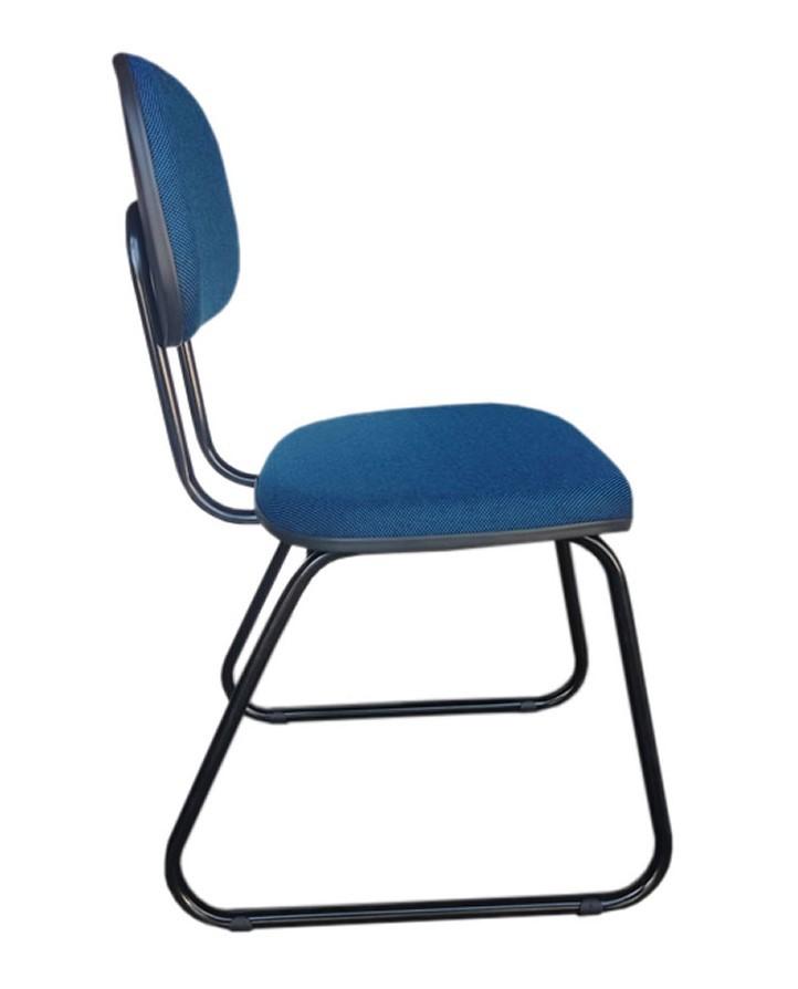 Cadeira de Escritório Secretária - Pés Ski  - Tinay Móveis Ltda