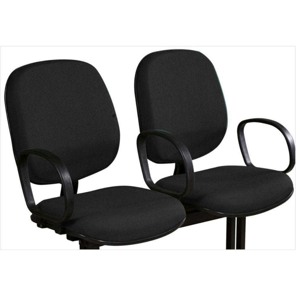 Cadeira de Espera 2 Lugares com Braço - Diretor