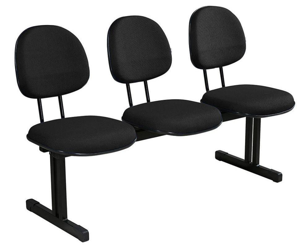 Cadeira de Espera 3 Lugares - Executiva  - Tinay Móveis Ltda