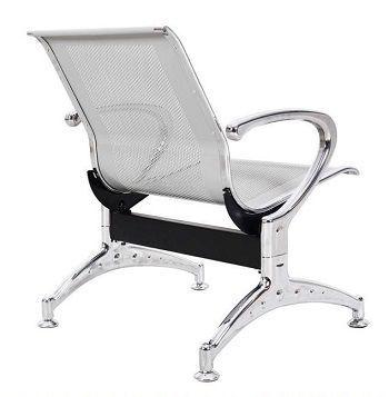 Cadeira de Espera Cromada  - B01