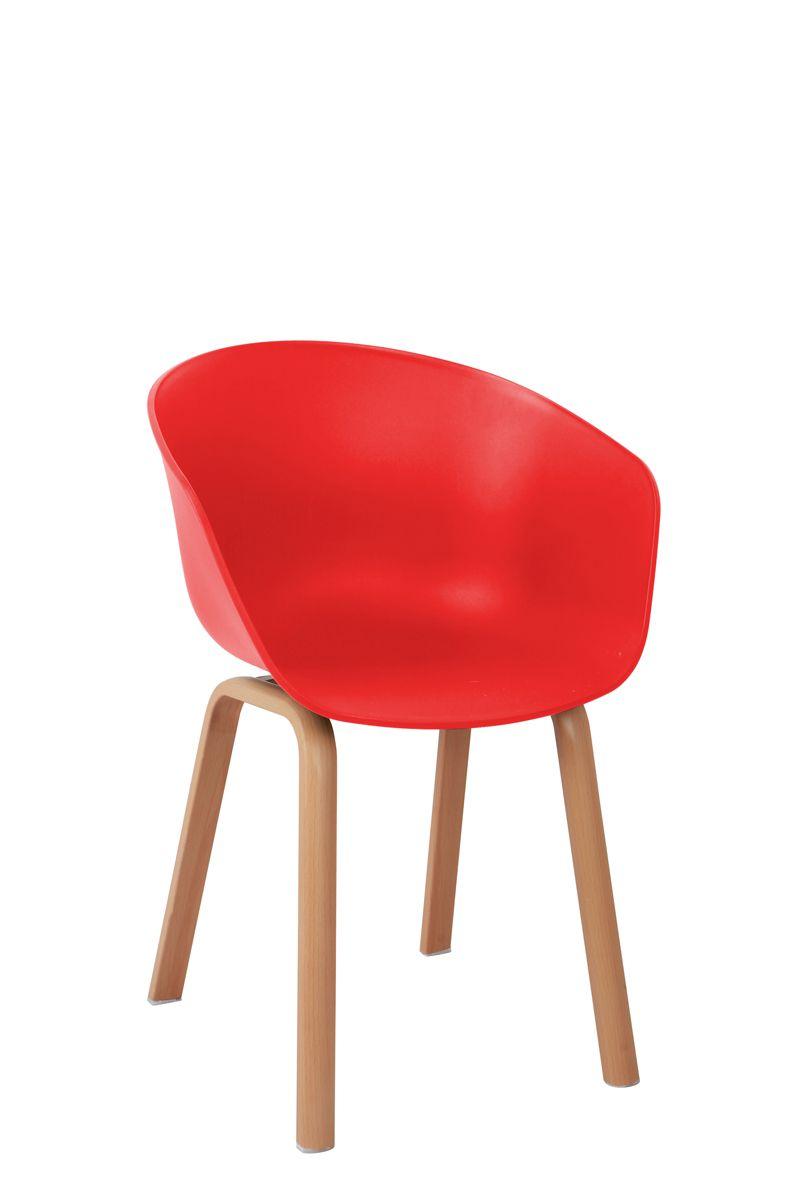 Cadeira Design Concha Pés em Aço