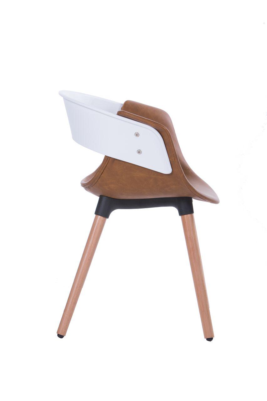 Cadeira Design em Courino
