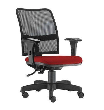 Cadeira Diretor em Tela Reclinável Soul - NR -17  - Tinay Móveis Ltda