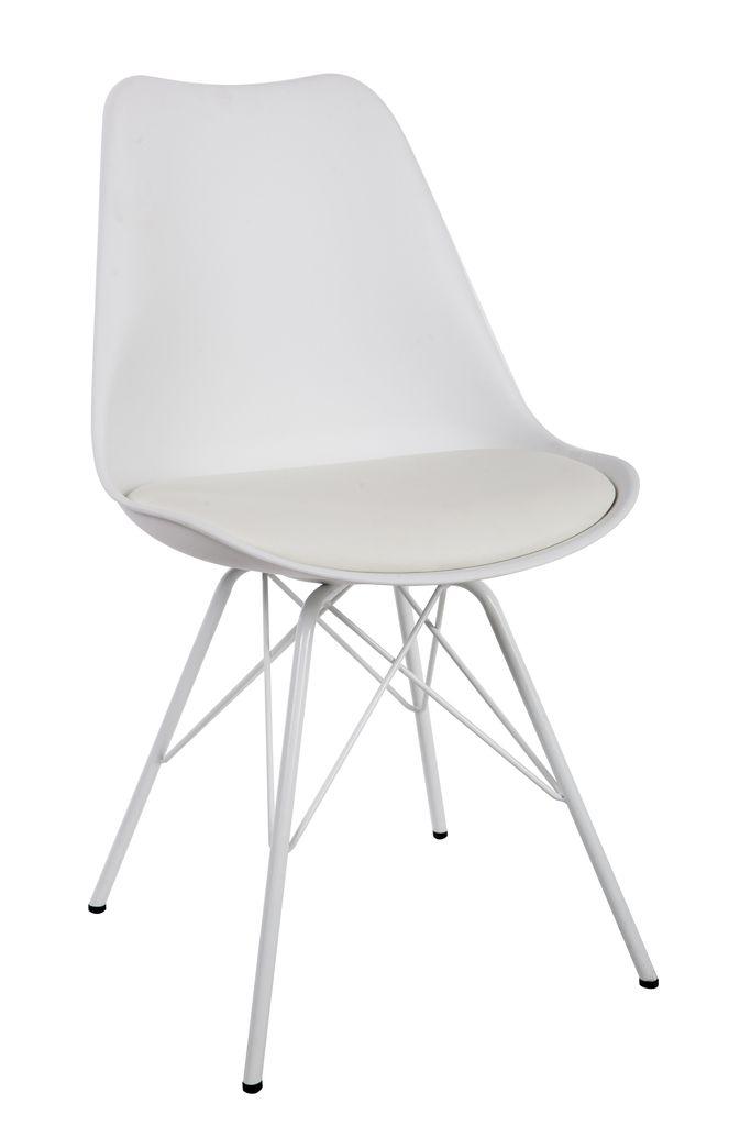 Cadeira Eames Base Amarela - DSW Amarela  - Tinay Móveis Ltda