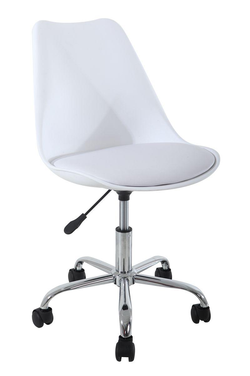 Cadeira Eames Office com Estofado