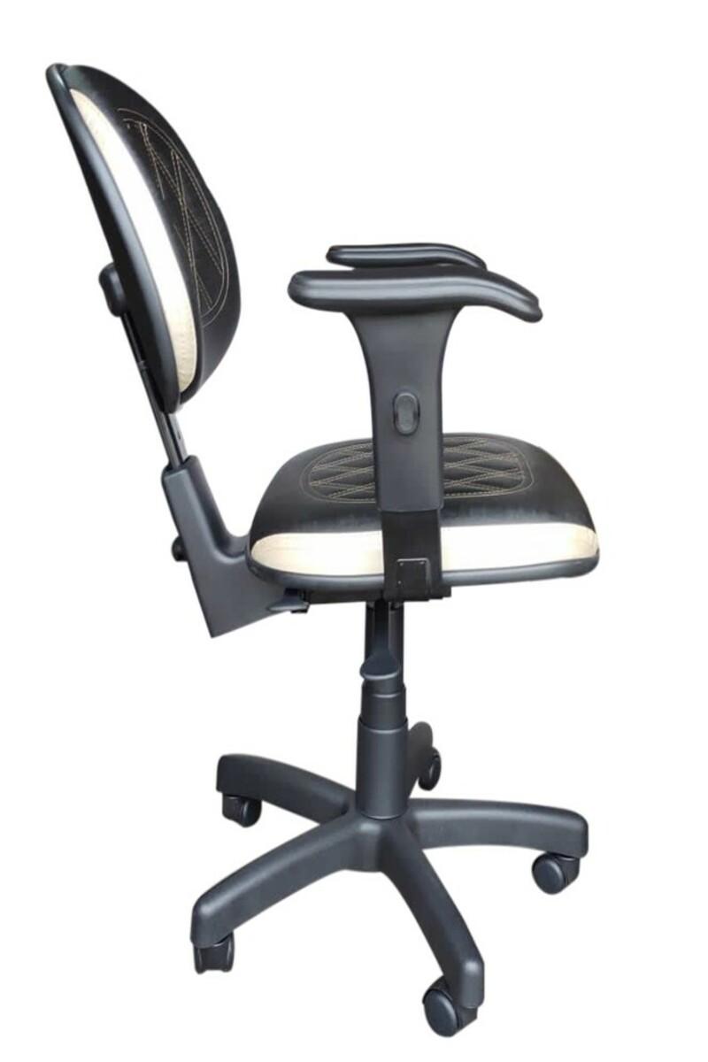 Cadeira Ergonômica Executiva Costurada - Com Braço  - Tinay Móveis Ltda