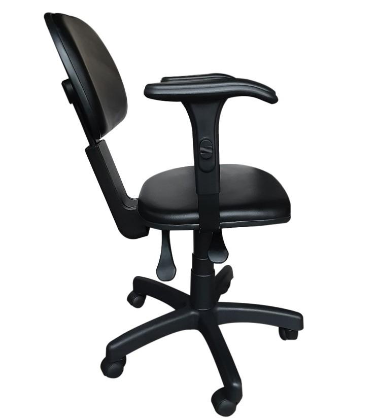 Cadeira Secretária Reclinável Com Braço  - Tinay Móveis Ltda