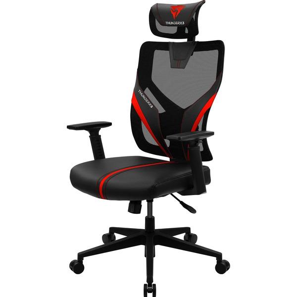 Cadeira Ergonômica Yama1 Preta/Vermelha THUNDERX3