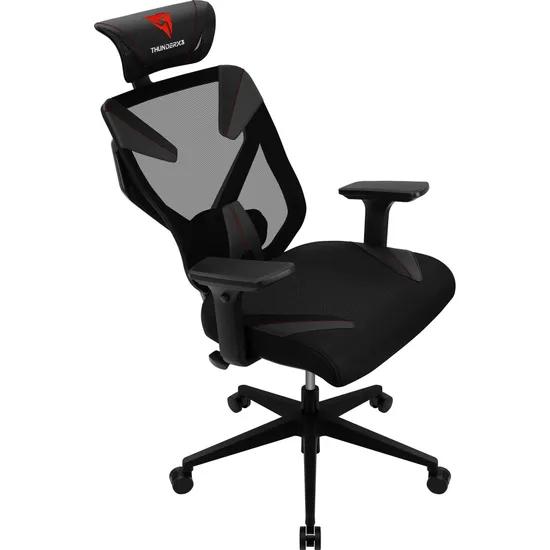 Cadeira Ergonômica Yama3 Preta/Vermelha THUNDERX3