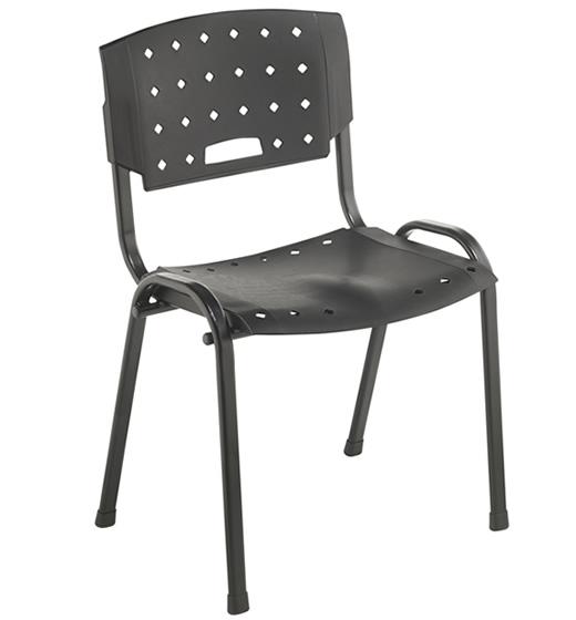 Cadeira Fixa Empilhável Plastica MR