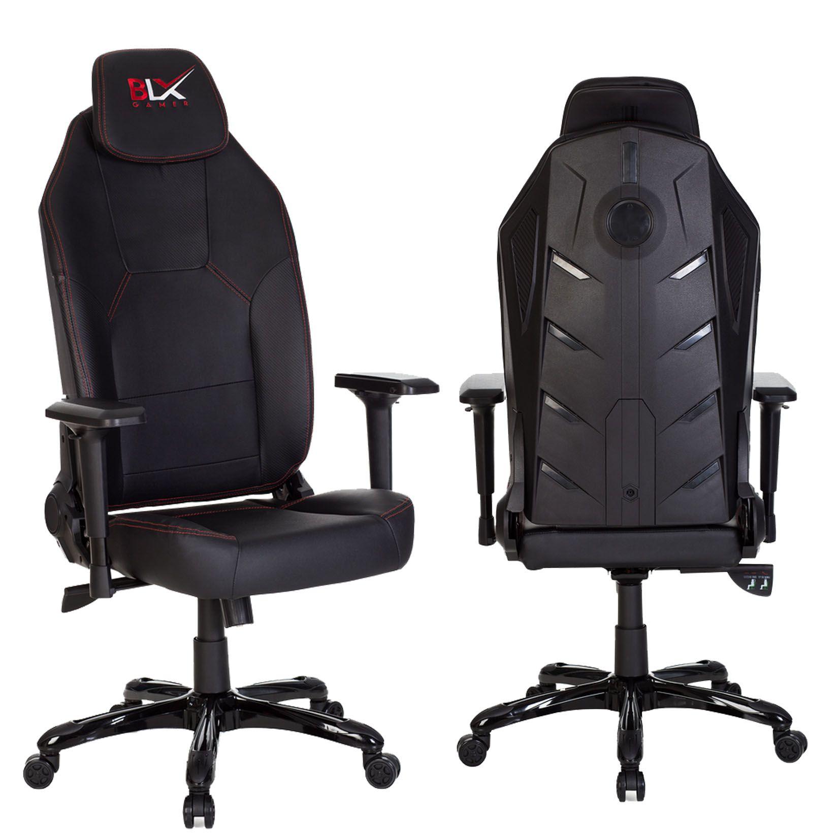Cadeira Gamer com Led e Reclinação de 180° - BLX  - Tinay Móveis Ltda